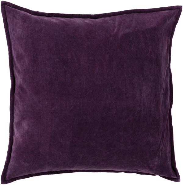 Surya Solid Pillows Smooth Velvet Pillows Rugs Direct