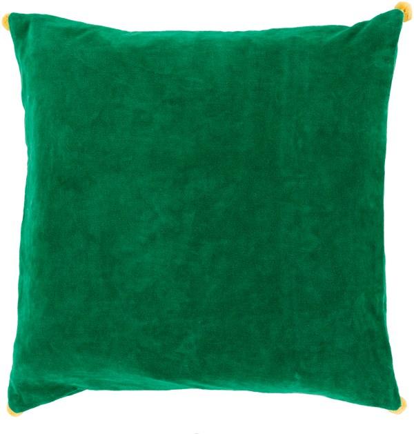 Emerald, Sunflower (VP-006) Solid pillow