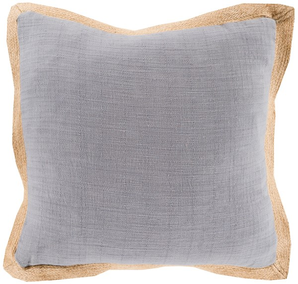 Gray, Mocha (JF-003) Solid pillow