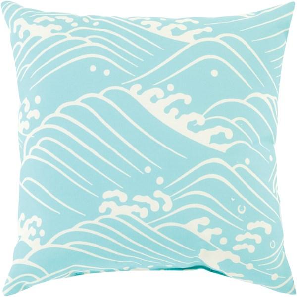 Aqua, Beige (MZ-001) Outdoor / Indoor pillow