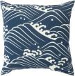 Product Image of Outdoor / Indoor Navy, Beige (MZ-002) pillow