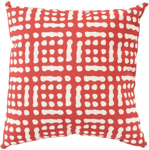 Burgundy, Beige (MZ-016) Outdoor / Indoor pillow