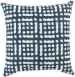 Product Image of Outdoor / Indoor Navy, Beige (MZ-018) pillow