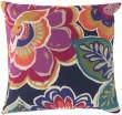 Product Image of Outdoor / Indoor Magenta, Iris, Navy, Coral, Moss (RG-006) pillow