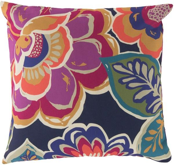 Magenta, Iris, Navy, Coral, Moss (RG-006) Outdoor / Indoor pillow
