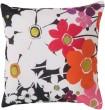Product Image of Outdoor / Indoor Burnt Orange, Black, Ivory, Hot Pink (RG-008) pillow