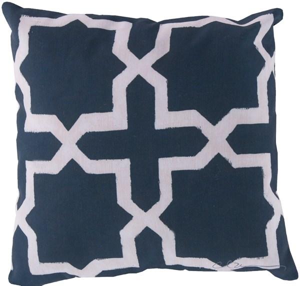 Navy, Beige (RG-009) Outdoor / Indoor pillow