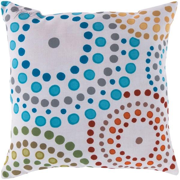 Aqua, Ivory, Slate, Forest (RG-034) Outdoor / Indoor pillow