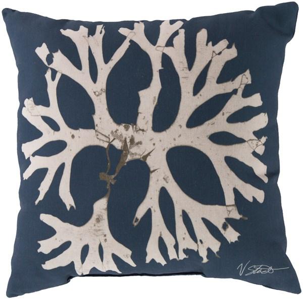 Navy, Beige (RG-053) Outdoor / Indoor pillow