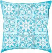 Product Image of Outdoor / Indoor Cobalt, Ivory (RG-062) pillow