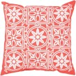 Product Image of Outdoor / Indoor Coral, Ivory (RG-063) pillow