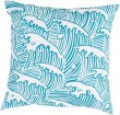 Product Image of Outdoor / Indoor Aqua, Ivory (RG-098) pillow