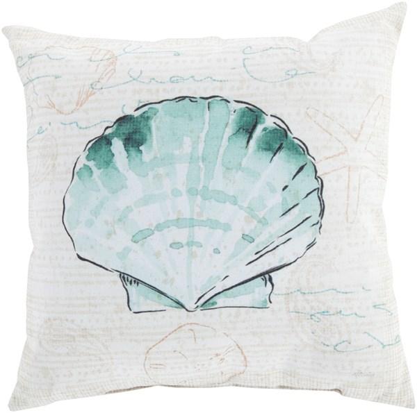 Sea Foam, Mint, Beige, Tea, Peach (RG-131) Outdoor / Indoor pillow