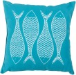 Product Image of Outdoor / Indoor Aqua, Ivory (RG-165) pillow