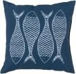 Product Image of Outdoor / Indoor Cobalt, Ivory (RG-166) pillow