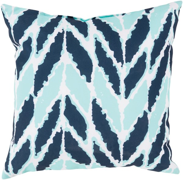 Cobalt, Mint (RG-172) Outdoor / Indoor pillow