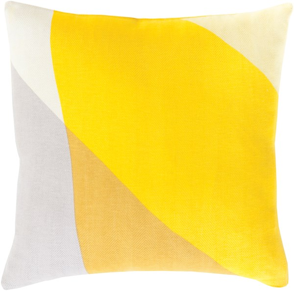 Lemon, Gold, Lime, Ivory (TO-008) Contemporary / Modern pillow
