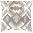 Product Image of Contemporary / Modern Charcoal, Light Gray, Olive, Ivory (TO-016) pillow