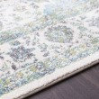 Product Image of Teal, Light Gray, Ivory Traditional / Oriental Area Rug