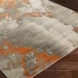 Product Image of Burnt Orange, Light Gray, Dark Brown Contemporary / Modern Area Rug