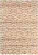 Product Image of Burnt Orange, Light Gray, Dark Brown Moroccan Area Rug