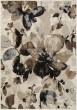 Product Image of Black, Tan, Camel, Medium Gray Floral / Botanical Area Rug