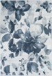 Product Image of Denim, Navy, Light Gray, Ivory Floral / Botanical Area Rug
