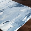 Product Image of Denim, Navy, Light Gray Abstract Area Rug