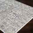 Product Image of Black, White, Medium Gray Vintage / Overdyed Area Rug