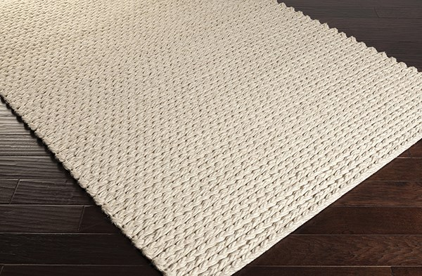 Off White, Beige (2000) Casual Area Rug