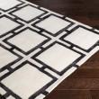 Product Image of Black, Cream Geometric Area Rug