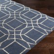 Product Image of Navy, Camel Geometric Area Rug