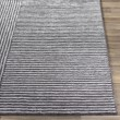 Product Image of Black, Grey (QTZ-5038) Contemporary / Modern Area Rug