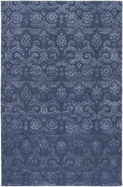 Navy, Slate (AVI-2003) Traditional / Oriental Area Rug
