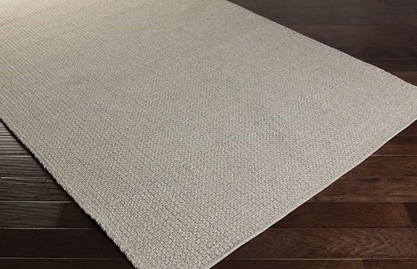 Light Gray, Gray (EMB-1000) Outdoor / Indoor Area Rug