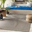 Product Image of Light Gray, Gray (EMB-1000) Outdoor / Indoor Area Rug