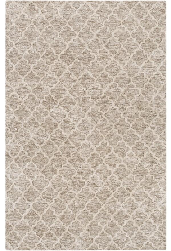 Light Gray, Taupe Moroccan Area Rug