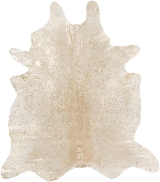 Ivory, Gold (LMU-2000) Animals / Animal Skins Area Rug