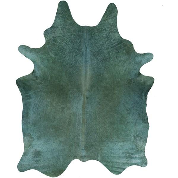 Teal (LMU-2001) Animals / Animal Skins Area Rug