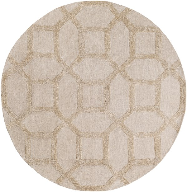 Ivory, Beige (AWRS-2130) Moroccan Area Rug