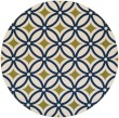Product Image of Ivory, Navy, Moss Moroccan Area Rug