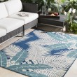 Product Image of Navy, Slate, Ivory Outdoor / Indoor Area Rug