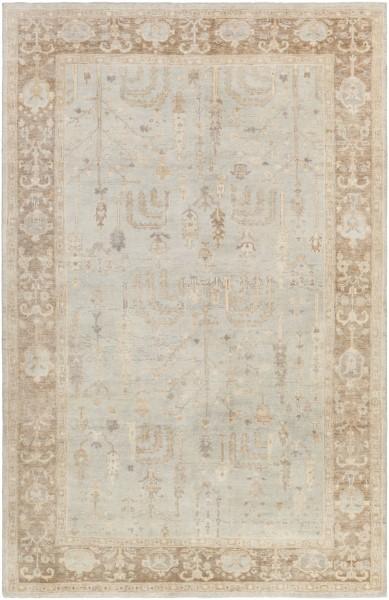 Wheat, Beige, Camel, Ivory, Khaki Traditional / Oriental Area Rug