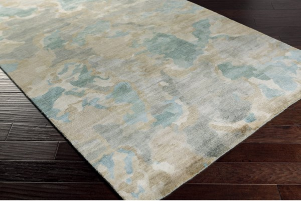 Slate, Forest, Butter, Ivory, Olive Transitional Area Rug