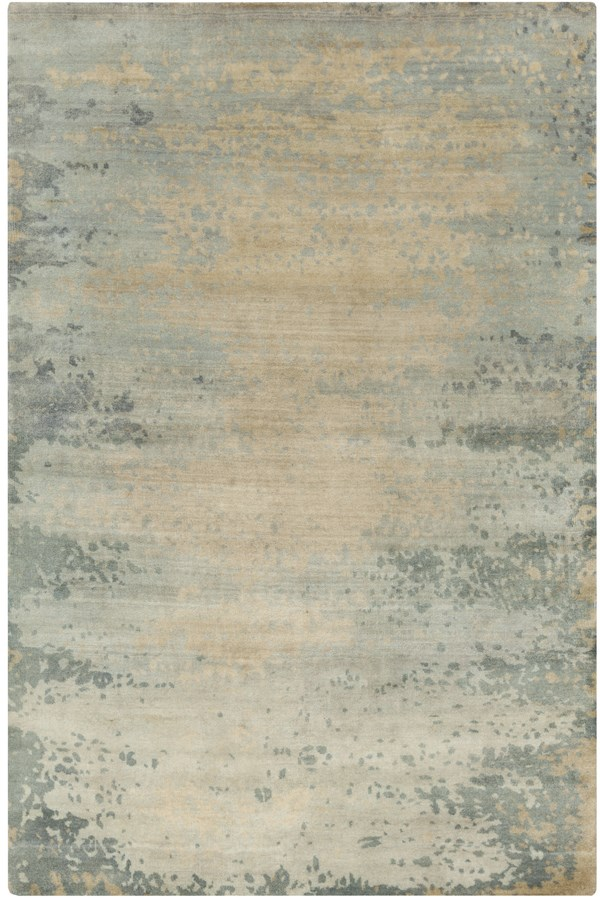 Beige, Light Grey, Gold Transitional Area Rug