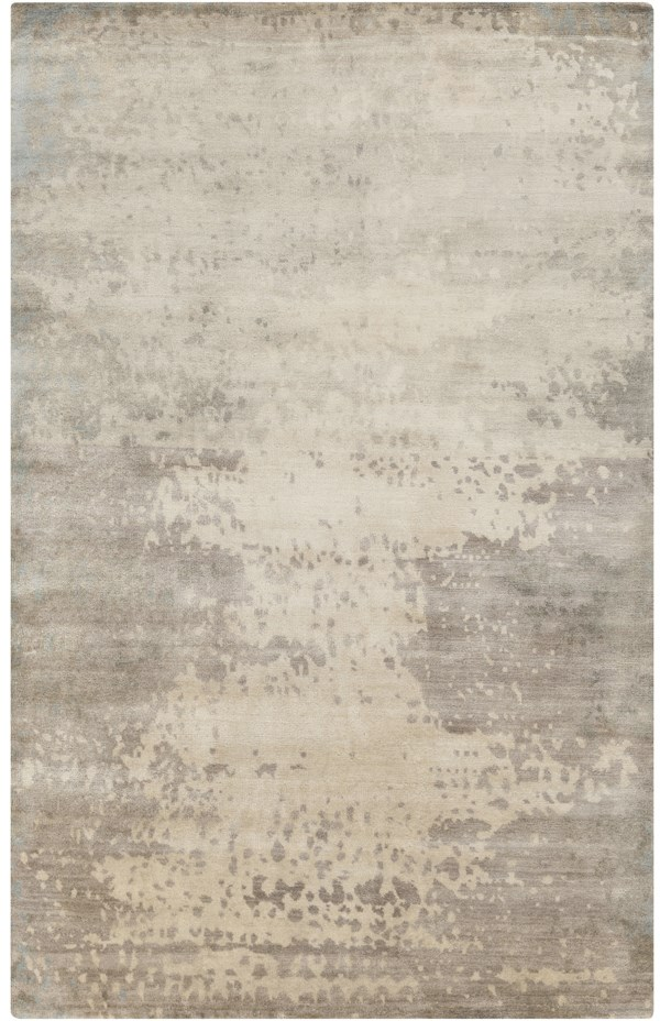 Light Gray, Gray, Beige Transitional Area Rug