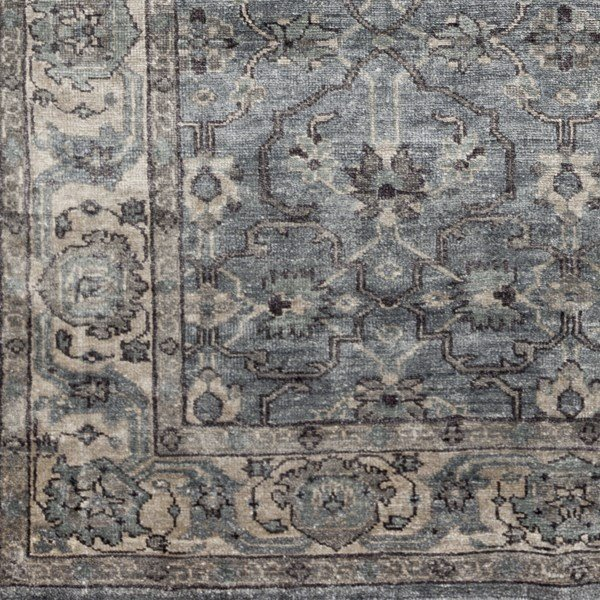 Ivory, Light Gray, Medium Gray, Camel Traditional / Oriental Area Rug