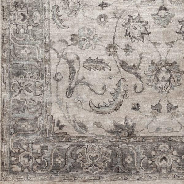 Camel, Ivory, Medium Gray, Camel Traditional / Oriental Area Rug