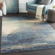 Product Image of Slate, Sky Blue, Navy, Gray, Ivory Transitional Area Rug