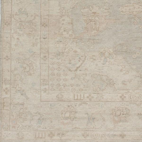 Ivory, Light Gray, Sea Foam Traditional / Oriental Area Rug